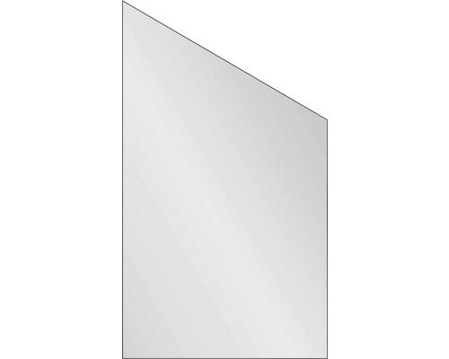 Elément de clôture Vidrio 103x180/120 cm à gauche satiné