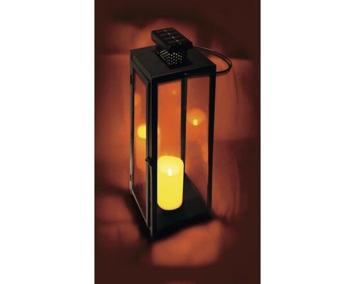 Lanterne extérieure à LED batterie 18x18x18 cm blanc chaud
