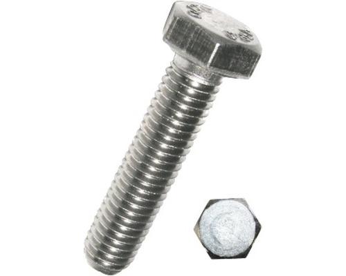 Vis à six pans sans tige DIN 933 4x20 mm acier inoxydable A2, 500 pièces