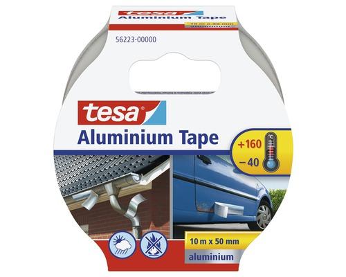 Bande en aluminium tesa argent 10 m x 50 mm