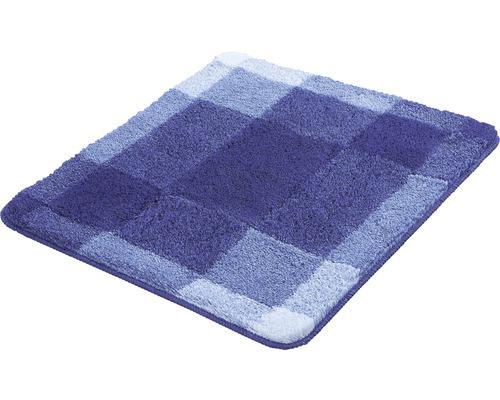 Badteppich Kleine Wolke Mix Marineblau 55 x 65 cm