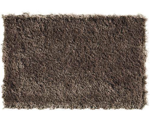 Teppichboden Shag Yeti mittelbraun 400 cm breit (Meterware)