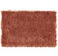 Teppichboden Shag Yeti dunkel terracotta 400 cm breit (Meterware)
