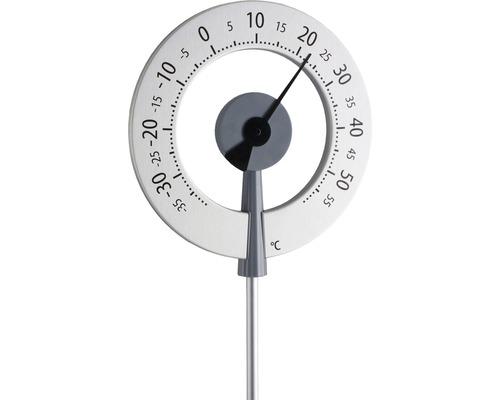 Thermomètre de jardin extérieur analogique Lollipop