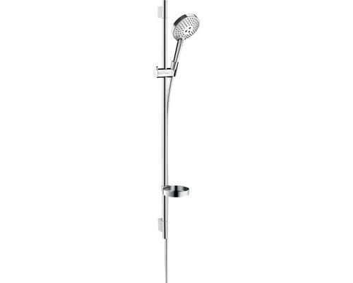 Ensemble de douche hansgrohe Raindance Select S120 27667000, longueur de la barre de douche 1008mm