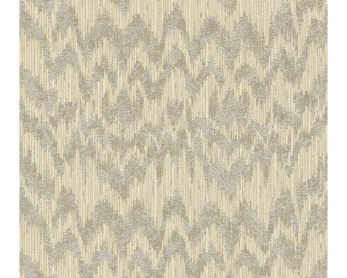 Papier peint intissé 36501-5 Michalsky 3 - Dream Again zigzag beige brun