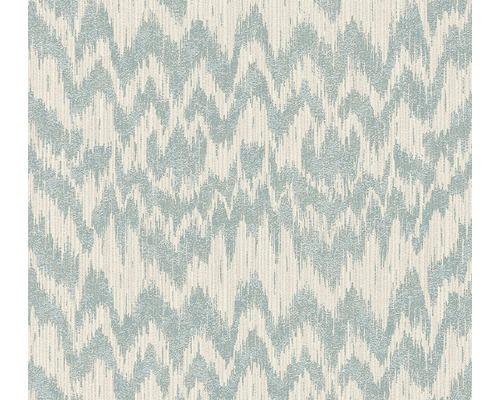 Papier peint intissé 36501-1 Michalsky 3 - Dream Again zigzag beige turquoise