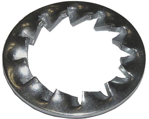 Rondelle striée IZ, DIN 6798, 6,4mm galvanisée, 100 unités