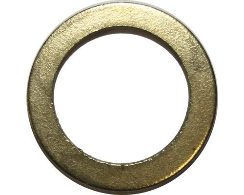 Rondelles pour gond de porte de 9 mm revêtues de laiton, 15 unités