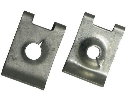 Ecrou à tôle 5.6mm galvanisé 4 pièces