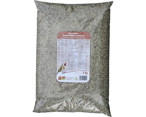 Nourriture d''hiver pour oiseaux Winterspass Graines tournesol pelées 5kg
