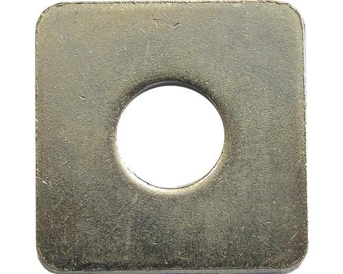 Disque carré DIN 436 9 mm galvanisé 50 unités