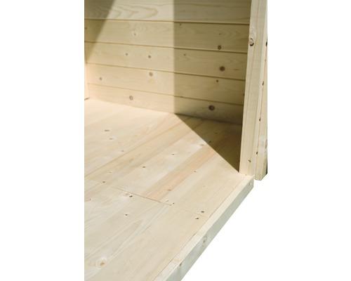 Plancher Karibu pour dimensions de socle 200x150cm