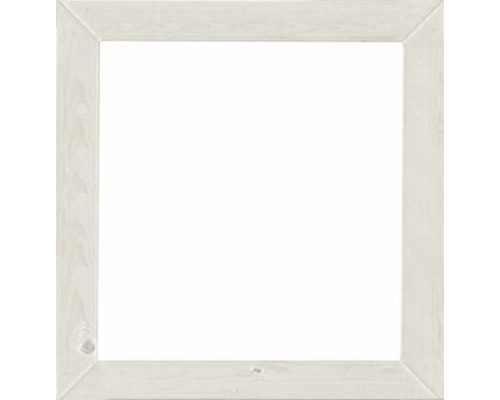 Fenêtre à un vantail Karibu pour abri de jardin 19mm Karibu fixe 57x57cm blanc ivoire
