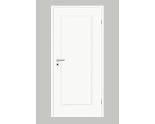 Porte intérieure Pertura Mila 01 laque blanche (semblable à RAL 9010) 86,0x198,5 cm tirant droit
