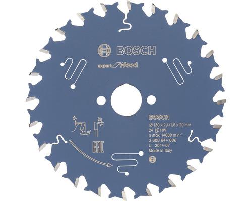 Lame de scie circulaire Expert for Wood Ø 130x20 mm Z 24