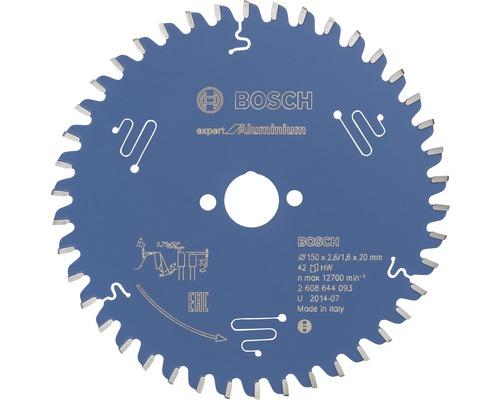 Lame de scie circulaire Expert for Aluminium Ø 150x20 mm Z 42