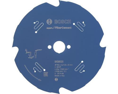 Lame de scie circulaire Expert for Fiber Cement Ø 160x20 mm Z 4