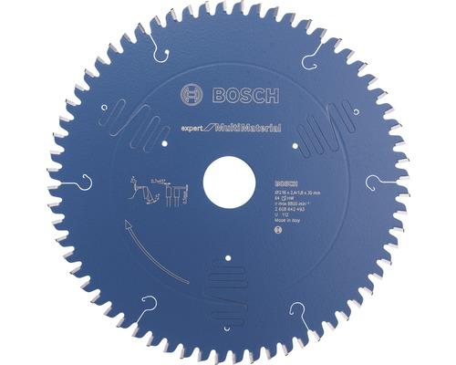 Lame de scie Expert for Multi Material Ø 216x30mm Z 64