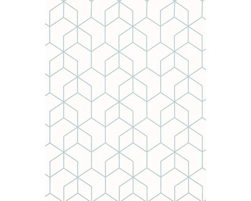 Papier peint intissé 82009 Daphne graphique blanc