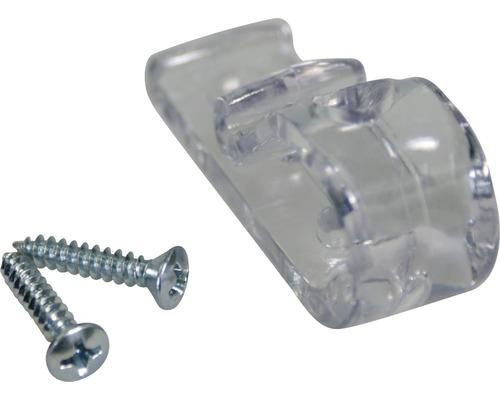 Fixation de sécurité pour tendeur de chaîne en plastique transparent
