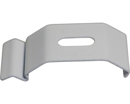 Clip pour plafonds en aluminium 89 & 127mm blanc