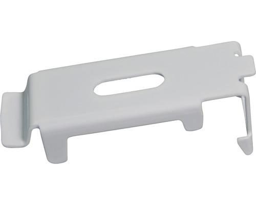 Support pour profilé de montage en aluminium gris