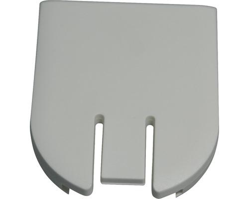 Support de montage pour arbre 30 en aluminium blanc