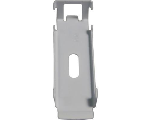 Support pour profilé de montage en aluminium 6CS9 coloris aluminium