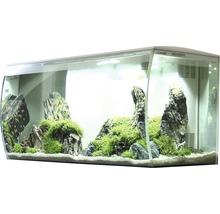 Aquarium Fluval Flex 123 l avec éclairage LED, filtre, support en mousse sans meuble bas, blanc-thumb-0