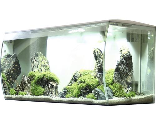 Aquarium Fluval Flex 123 l inkl. LED-Beleuchtung, Filter, Schaumstoffunterlage ohne Unterschrank weiß