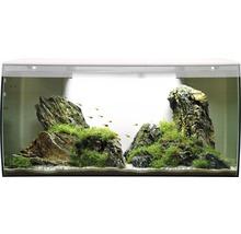 Aquarium Fluval Flex 123 l avec éclairage LED, filtre, support en mousse sans meuble bas, blanc-thumb-2