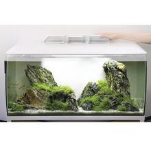 Aquarium Fluval Flex 123 l avec éclairage LED, filtre, support en mousse sans meuble bas, blanc-thumb-3