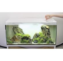 Aquarium Fluval Flex 123 l avec éclairage LED, filtre, support en mousse sans meuble bas, blanc-thumb-4