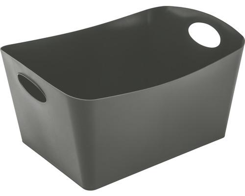 Boîte de rangement koziol 15l BOXXX L deep grey