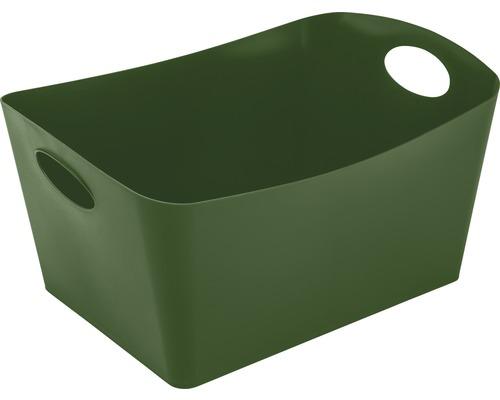 Boîte de rangement koziol 15l BOXXX L forest green