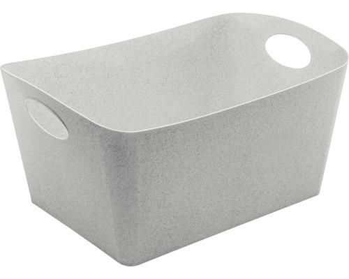 Boîte de rangement koziol 15l BOXXX L organic grey