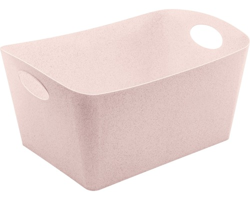 Boîte de rangement koziol 15l BOXXX L organic pink