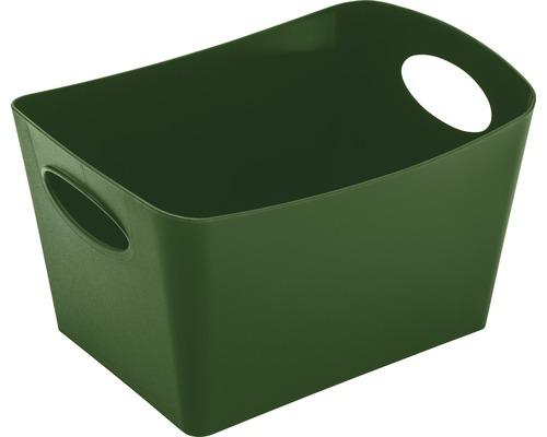 Boîte de rangement koziol 1l BOXXX S forest green