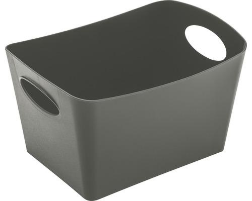 Boîte de rangement koziol 1l BOXXX S deep grey