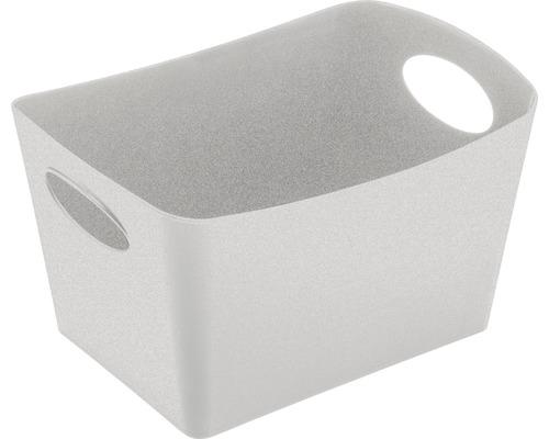 Boîte de rangement koziol 1l BOXXX S organic grey