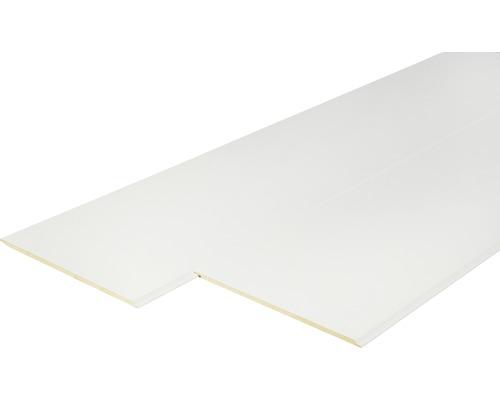 Panneau décoratif à haute brillance blanc avec joint zéro 8x190x2600mm