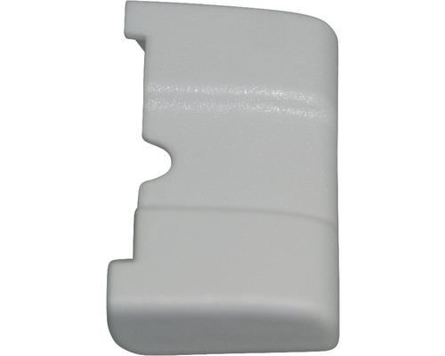 Recouvrement pour support mural en plastique blanc