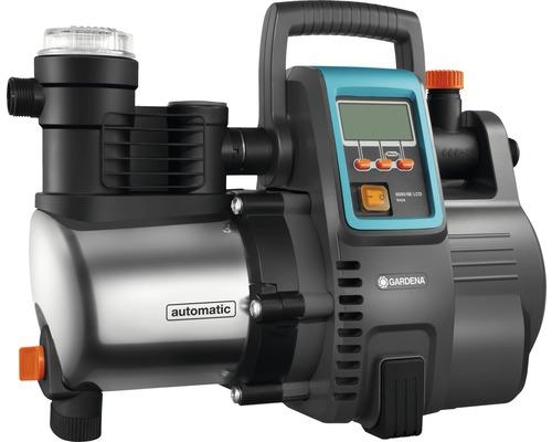 Distributeur d''eau à usage domestique GARDENA 6000/6 LCD avec protection contre les intempéries