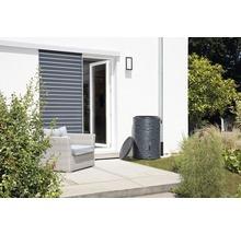 Cuve de collecte d''eau de pluie ARONDO 250 L gris graphite-thumb-5