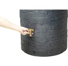 Cuve de collecte d''eau de pluie ARONDO 250 L gris graphite-thumb-2