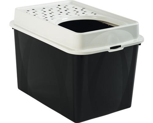 Litière pour chats Berty Hop In 40,4x39,3x57,2cm noir