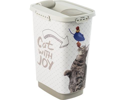 Boîte à nourriture pour animaux Cody 25 l 33x25x46,3cm cappuccino