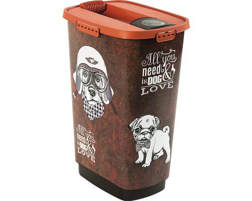 Boîte à nourriture pour animaux Cody 50 l 39,7x29,6x58,5cm marron