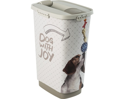 Boîte à nourriture pour animaux Cody 50 l 39,7x29,6x58,5cm cappuccino